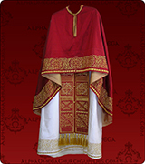 Embroidered Priest Vestment - 130