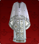 Embroidered Priest Vestment - 139