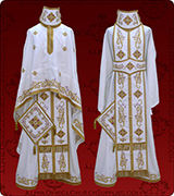 Embroidered Priest Vestment - 140