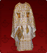 Embroidered Priest Vestment - 148