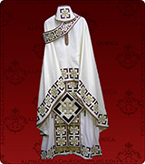Embroidered Priest Vestment - 154