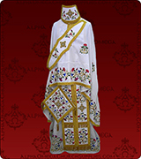 Embroidered Priest Vestment - 158