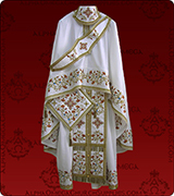 Embroidered Priest Vestment - 160