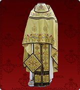 Embroidered Priest Vestment - 162