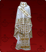 Embroidered Priest Vestment - 163