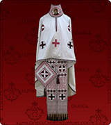 Embroidered Priest Vestment - 166