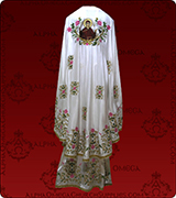 Embroidered Priest Vestment - 169