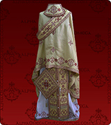 Embroidered Priest Vestment - 173