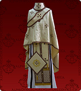 Embroidered Priest Vestment - 175