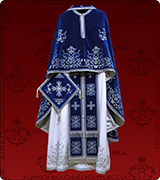 Embroidered Priest Vestment - 178