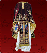 Embroidered Priest Vestment - 181