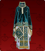 Embroidered Priest Vestment - 184