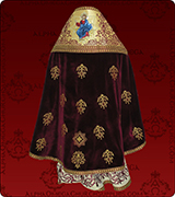 Embroidered Priest Vestment - 188