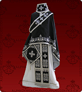 Embroidered Priest Vestment - 200