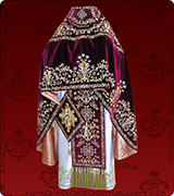 Embroidered Priest Vestment - 202