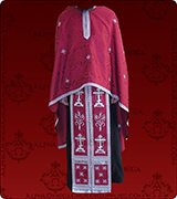 Embroidered Priest Vestment - 203