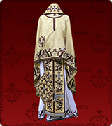 Embroidered Priest Vestment - 205