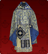 Embroidered Priest Vestment - 210