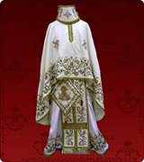 Embroidered Priest Vestment - 262