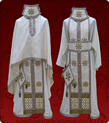 Embroidered Priest Vestment - 264