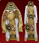 Embroidered Priest Vestment - 270