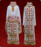 Embroidered Priest Vestment - 276