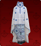 Embroidered Priest Vestment - 278