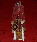 Embroidered Priest Vestment - 280