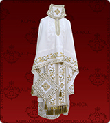 Embroidered Priest Vestment - 282