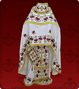 Embroidered Priest Vestment - 286