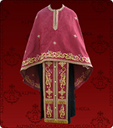 Embroidered Priest Vestment - 294