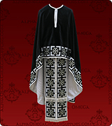 Embroidered Priest Vestment - 296
