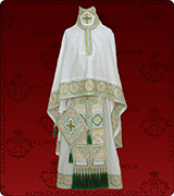 Embroidered Priest Vestment - 298