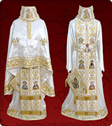 Embroidered Priest Vestment - 300