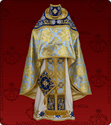 Embroidered Priest Vestment - 302