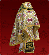 Embroidered Priest Vestment - 304
