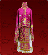 Embroidered Priest Vestment - 306