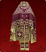 Embroidered Priest Vestment - 308