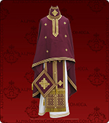 Embroidered Priest Vestment - 310