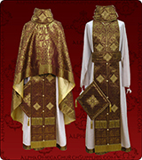 Embroidered Priest Vestment - 314