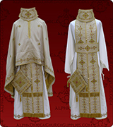 Embroidered Priest Vestment - 318