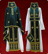 Embroidered Priest Vestment - 320