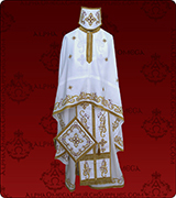 Embroidered Priest Vestment - 322