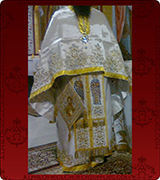 Embroidered Priest Vestment - 324