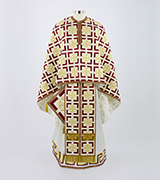 Embroidered Priest Vestment - 400