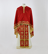 Embroidered Priest Vestment - 440