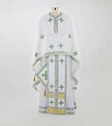 Embroidered Priest Vestment - 515