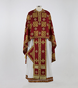 Embroidered Priest Vestment - 520