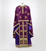 Embroidered Priest Vestment - 545