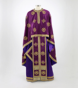 Embroidered Priest Vestment - 550